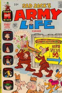 Cover Thumbnail for Sad Sack's Army Life Parade (Harvey, 1963 series) #38