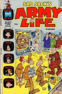 Cover Thumbnail for Sad Sack's Army Life Parade (Harvey, 1963 series) #44