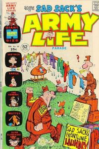 Cover Thumbnail for Sad Sack's Army Life Parade (Harvey, 1963 series) #50