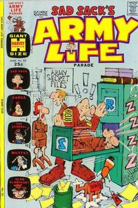 Cover Thumbnail for Sad Sack's Army Life Parade (Harvey, 1963 series) #52