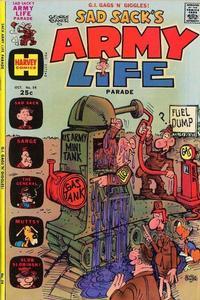 Cover Thumbnail for Sad Sack's Army Life Parade (Harvey, 1963 series) #54