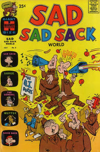 Cover Thumbnail for Sad Sad Sack World (Harvey, 1964 series) #8