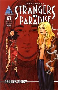 Cover Thumbnail for Strangers in Paradise (Abstract Studio, 1997 series) #63