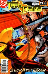 Cover Thumbnail for Teen Titans (DC, 2003 series) #21 [Direct Sales]