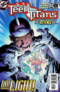 Cover Thumbnail for Teen Titans (DC, 2003 series) #22 [Direct Sales]