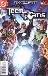 Cover Thumbnail for Teen Titans (DC, 2003 series) #23 [Direct Sales]