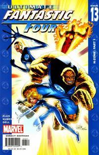 Cover Thumbnail for Ultimate Fantastic Four (Marvel, 2004 series) #13 [Regular Cover]