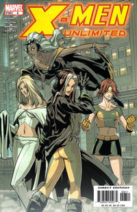 Cover Thumbnail for X-Men Unlimited (Marvel, 2004 series) #6