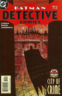 Cover Thumbnail for Detective Comics (DC, 1937 series) #801