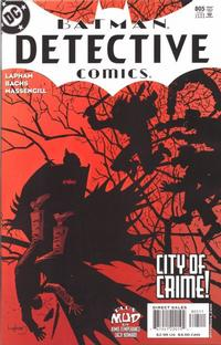 Cover Thumbnail for Detective Comics (DC, 1937 series) #805