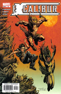Cover Thumbnail for Excalibur (Marvel, 2004 series) #10