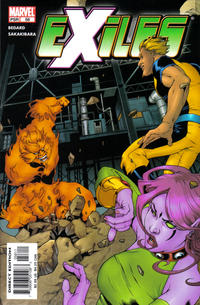 Cover Thumbnail for Exiles (Marvel, 2001 series) #58 [Direct Edition]