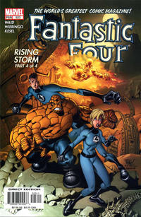 Cover Thumbnail for Fantastic Four (Marvel, 1998 series) #523 [Direct Edition]