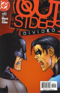 Cover Thumbnail for Outsiders (DC, 2003 series) #21