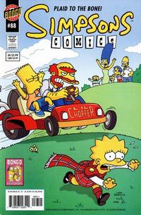 Cover Thumbnail for Simpsons Comics (Bongo, 1993 series) #88