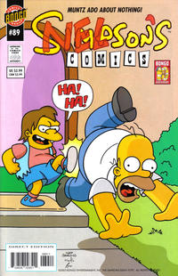 Cover Thumbnail for Simpsons Comics (Bongo, 1993 series) #89