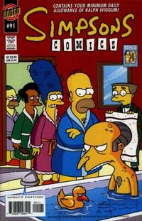 Cover Thumbnail for Simpsons Comics (Bongo, 1993 series) #91