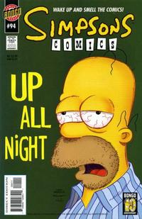 Cover Thumbnail for Simpsons Comics (Bongo, 1993 series) #94