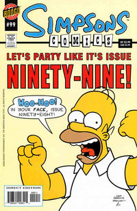 Cover Thumbnail for Simpsons Comics (Bongo, 1993 series) #99