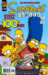 Cover Thumbnail for Simpsons Comics (Bongo, 1993 series) #100 [Direct Edition]