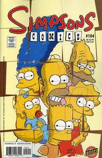 Cover Thumbnail for Simpsons Comics (Bongo, 1993 series) #104
