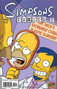 Cover Thumbnail for Simpsons Comics (Bongo, 1993 series) #105