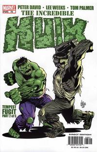 Cover for Incredible Hulk (Marvel, 2000 series) #78 [Direct Edition]
