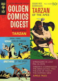 Cover Thumbnail for Golden Comics Digest (Western, 1969 series) #4
