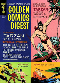 Cover Thumbnail for Golden Comics Digest (Western, 1969 series) #9