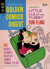 Cover Thumbnail for Golden Comics Digest (Western, 1969 series) #23