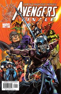 Cover for Avengers Finale (Marvel, 2005 series) #1