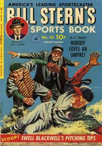 Cover Thumbnail for Bill Stern's Sports Book (Ziff-Davis, 1951 series) #v1#10 [1]