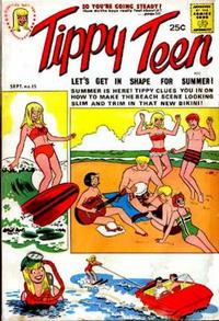Cover Thumbnail for Tippy Teen (Tower, 1965 series) #15