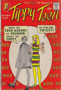 Cover Thumbnail for Tippy Teen (Tower, 1965 series) #16