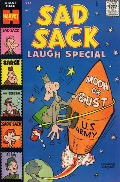 Cover for Sad Sack Laugh Special (Harvey, 1958 series) #1