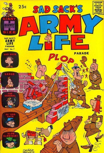 Cover for Sad Sack's Army Life Parade (Harvey, 1963 series) #7