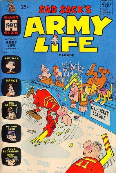 Cover for Sad Sack's Army Life Parade (Harvey, 1963 series) #12