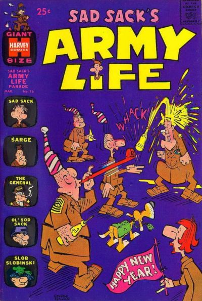 Cover for Sad Sack's Army Life Parade (Harvey, 1963 series) #16