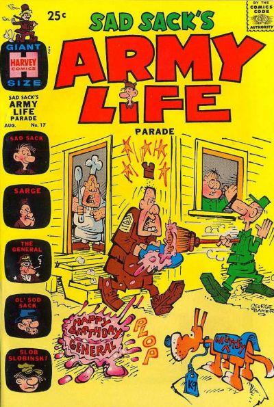 Cover for Sad Sack's Army Life Parade (Harvey, 1963 series) #17