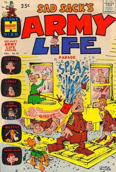 Cover for Sad Sack's Army Life Parade (Harvey, 1963 series) #18