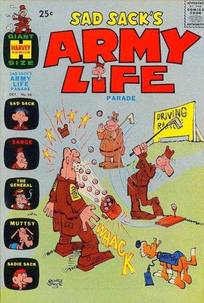 Cover for Sad Sack's Army Life Parade (Harvey, 1963 series) #26