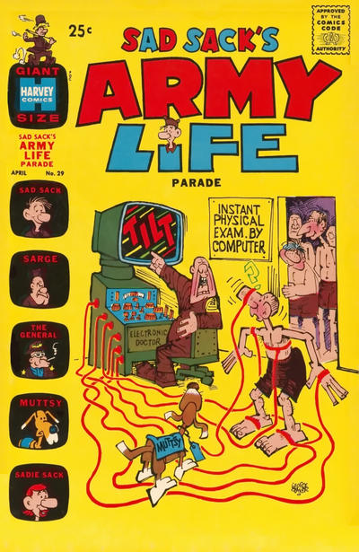 Cover for Sad Sack's Army Life Parade (Harvey, 1963 series) #29
