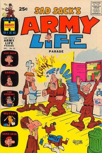 Cover for Sad Sack's Army Life Parade (Harvey, 1963 series) #32