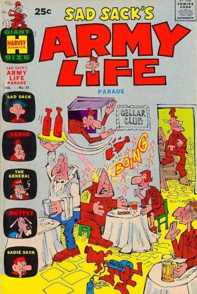 Cover for Sad Sack's Army Life Parade (Harvey, 1963 series) #33