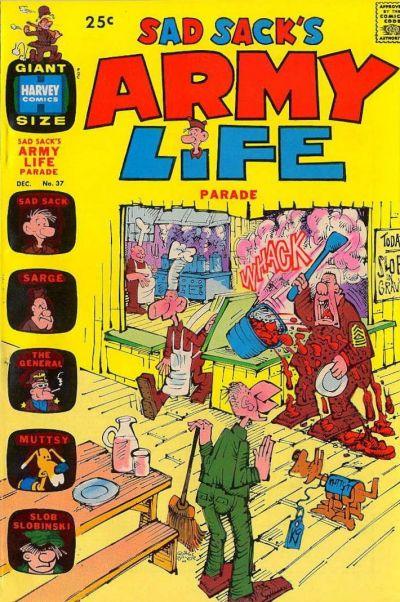 Cover for Sad Sack's Army Life Parade (Harvey, 1963 series) #37