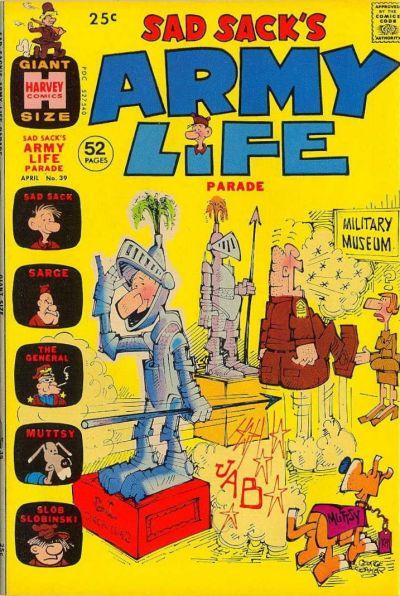 Cover for Sad Sack's Army Life Parade (Harvey, 1963 series) #39