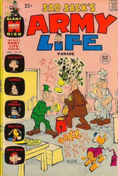 Cover for Sad Sack's Army Life Parade (Harvey, 1963 series) #40