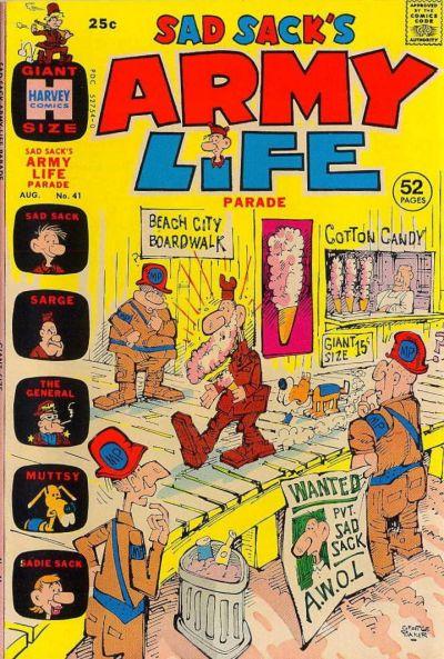 Cover for Sad Sack's Army Life Parade (Harvey, 1963 series) #41