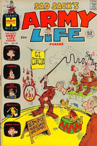 Cover for Sad Sack's Army Life Parade (Harvey, 1963 series) #42