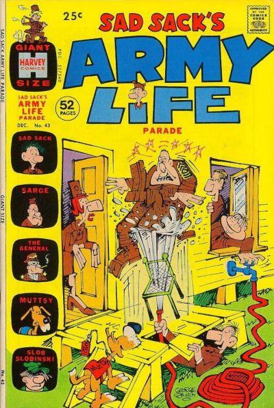 Cover for Sad Sack's Army Life Parade (Harvey, 1963 series) #43